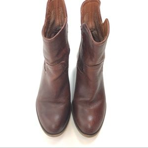 Franco Sarto Leather Booties Size 6.5